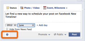 Scheduling Wall Post